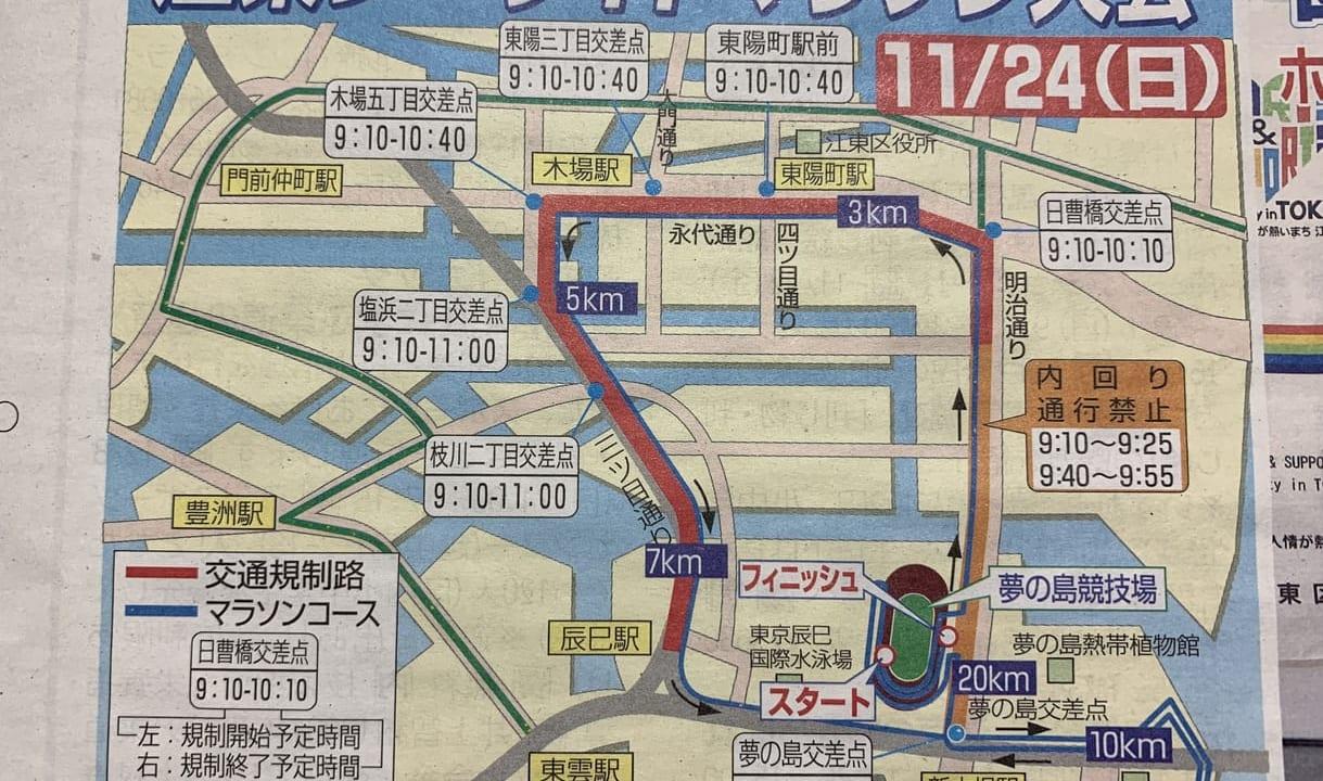 江東シーサイドマラソン2019