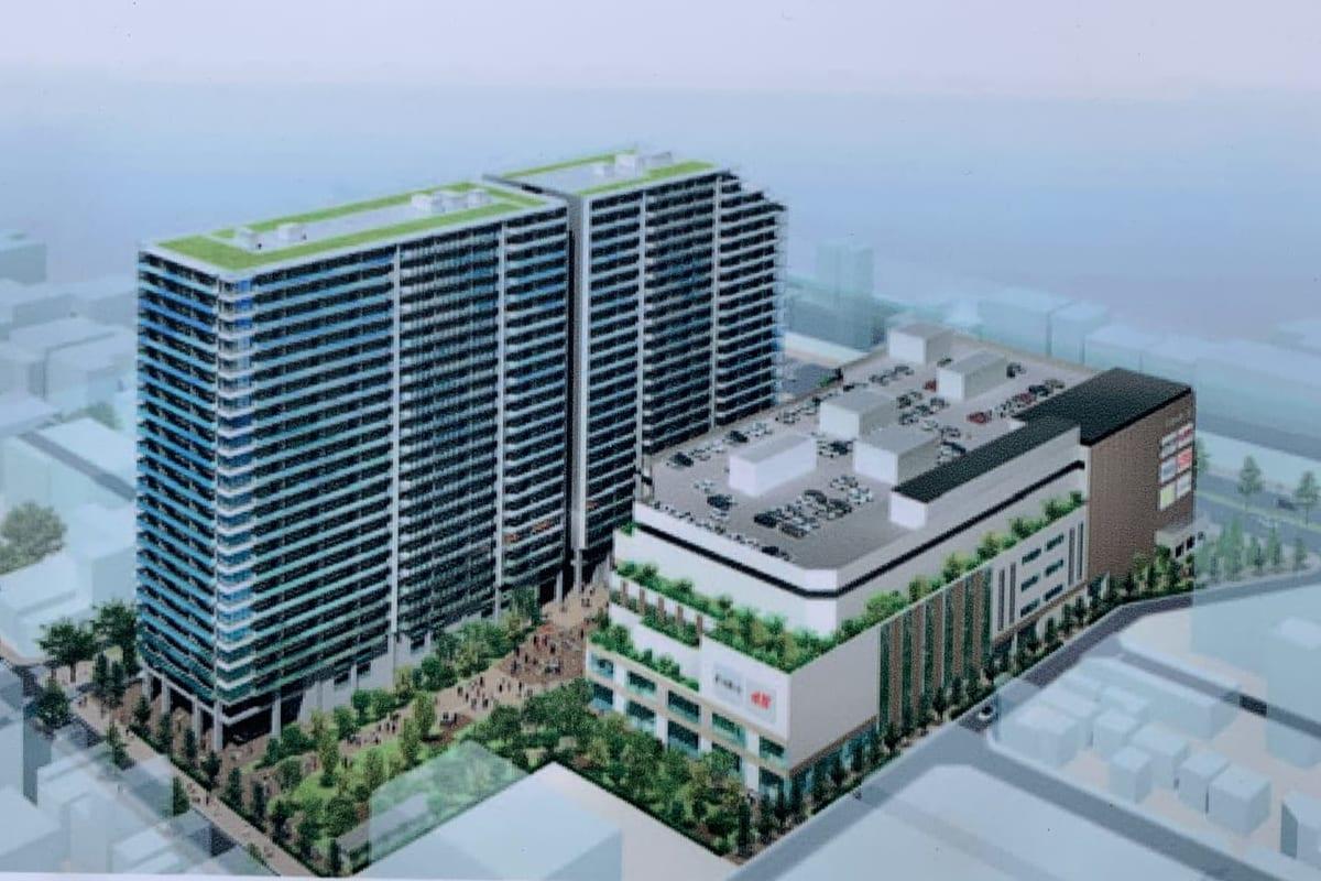 亀戸六丁目計画イメージ図