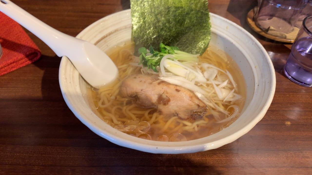東京ジョー醤油ラーメン